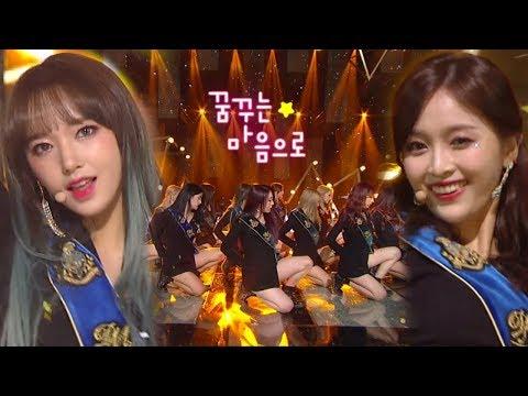 《Comeback Special》 WJSN(우주소녀) - Dreams Come True(꿈꾸는 마음으로) @인기가요 Inkigayo 20180304