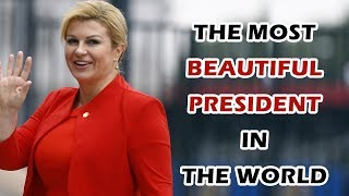 The Most Beautiful President In The World | Croatian President During FIFA World Cup 2018
