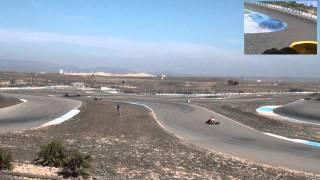 Final b ii gp craks aragón menarguens camara exterior y onboard : 11-03-2012 karting hd