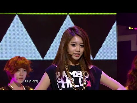 【TVPP】T-ara - Lovey-Dovey (with Coed School), 티아라 - 러비더비 (with 남녀공학) @ Show Music core Live