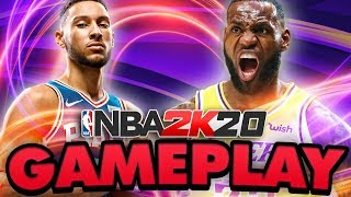 NBA 2K20 GAMEPLAY LAKERS VS SIXERS! BEN SIMMONS TAKES ON THE KING!