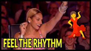 "Top 7 ""Judges Can't Sit"" It's Too Much FUN... Let's Dance Moments On Got Talent UK!"