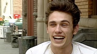 23-year-old James Franco (Interview 2001)