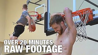 PRO Dunkers On A LOW Rim! Over 20 Minutes Of Crazy Dunks