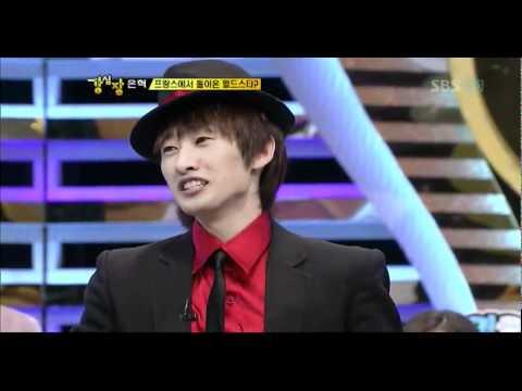 110621 Strong Heart Super junior Eunhyuk comeback