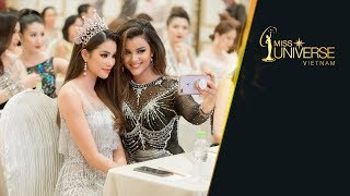 Họp báo công bố vương miện và truyền hình thực tế Hoa hậu Hoàn vũ Việt Nam 2017