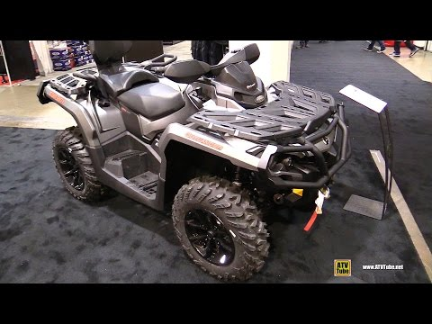 2017 Can Am Outlander Max XT 650 Recreational ATV - Walkaround - 2016 Toronto ATV Show