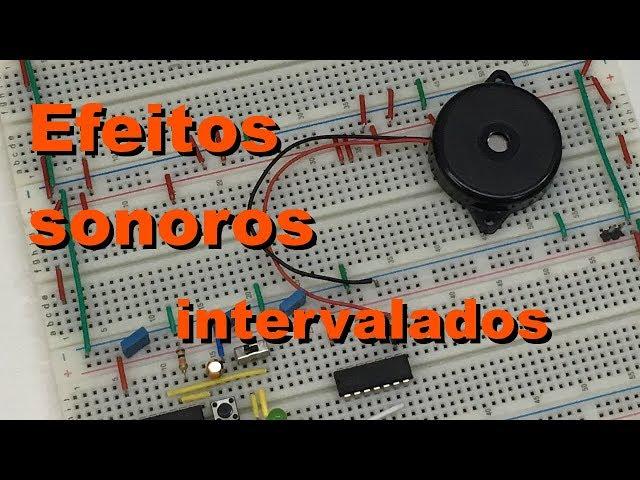 EFEITOS SONOROS INTERVALADOS | Conheça Eletrônica! #062