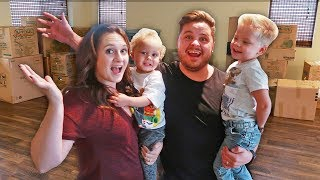 MOVING TO A NEW HOUSE! 🏡