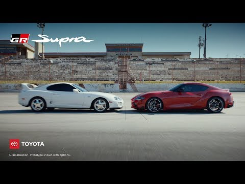 "The :06-second spot ""Face Off,"" from Toyota's latest campaign ""This Is Our Sport,"" shows off the performance of the all-new 2020 GR Supra."