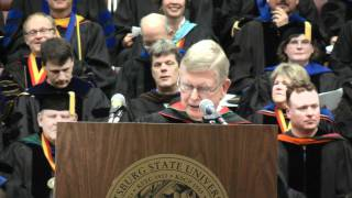'Gary Sherrer's PSU Commencement Speech WF 2010