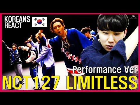 NCT127 - LIMITLESS Performance Ver. Reaction! (무한적아 리액션)