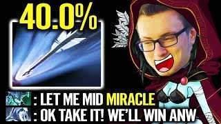 This why You  DO NOT Trashtalk to Miracle [Drow Ranger] EPIC Carry Gameplay Dota 2