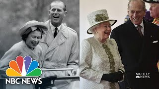 Queen Elizabeth II And Prince Philip's Love Story | NBC Nightly News