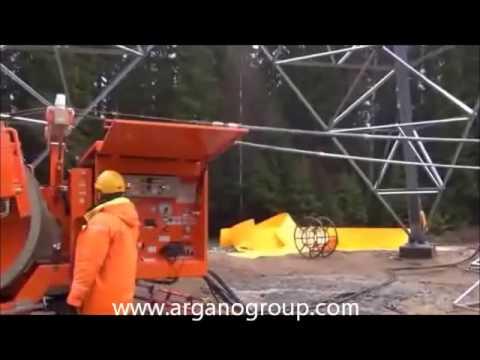 Maquinas de jalado de cables: Winche y devanadera