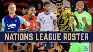 USMNT Nations League Roster Predictions