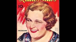 Kate Smith: When the Moon Comes Over the Mountain (Ted Collins Special)  (with lyrics)