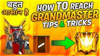 HOW TO REACH GRANDMASTER - BEST TIPS AND TRICKS - #JONTYGAMING - GARENA FREEFIRE BATTLEGROUND