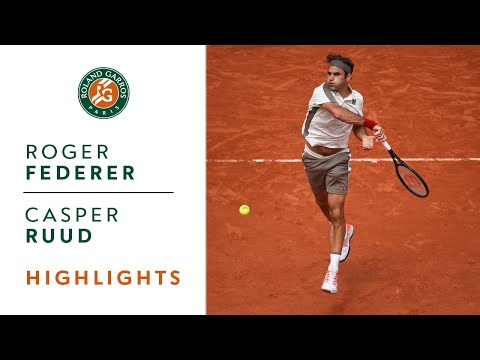Roger Federer vs Casper Ruud - Round 3 Highlights | Roland-Garros 2019