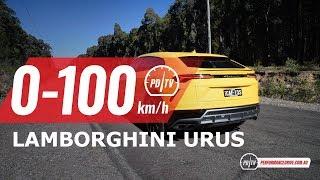 2019 Lamborghini Urus 0-100km/h & engine sound