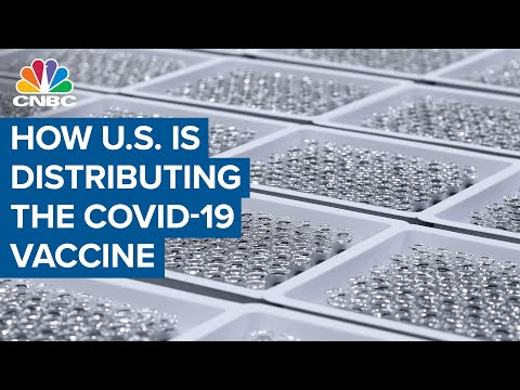 Watch how Pfizer's Covid-19 vaccine is being distributed across the U.S.