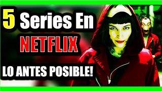 Las 5 Mejores Series de Netflix Que Debes Ver LO ANTES POSIBLE | Con Trailers | 5mplicacion