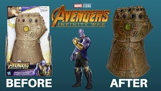 Hasbro Infinity Gauntlet Makeover- Chris' Custom Collectables!