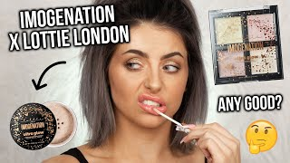 TESTING IMOGENATION X LOTTIE LONDON MAKEUP! FIRST IMPRESSIONS + REVIEW