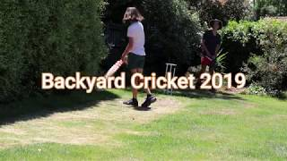 BACKYARD CRICKET 2019