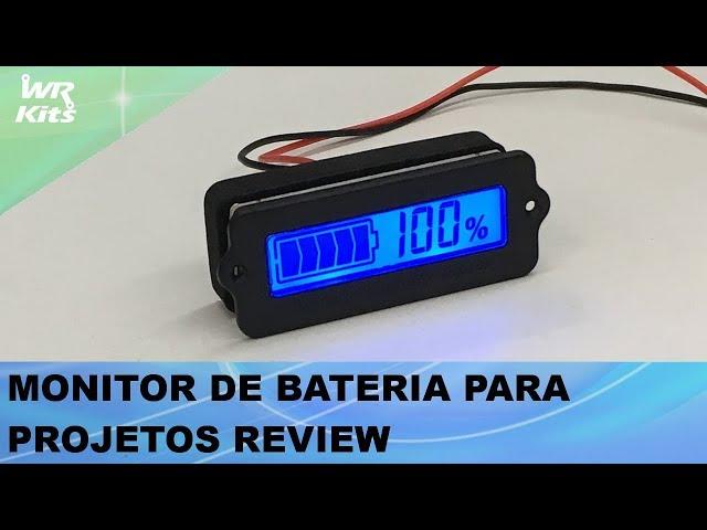 MONITOR DE BATERIA PARA PROJETOS REVIEW