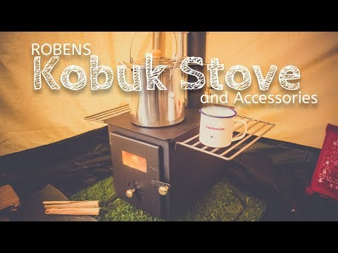video Robens Kobuk Stove and Accessories