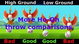 More Ho-Oh Curve Excellent Throw Comparisons