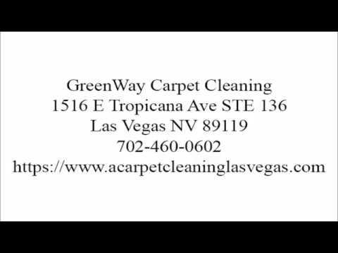 GreenWay Carpet Cleaning in Las Vegas and Henderson NV