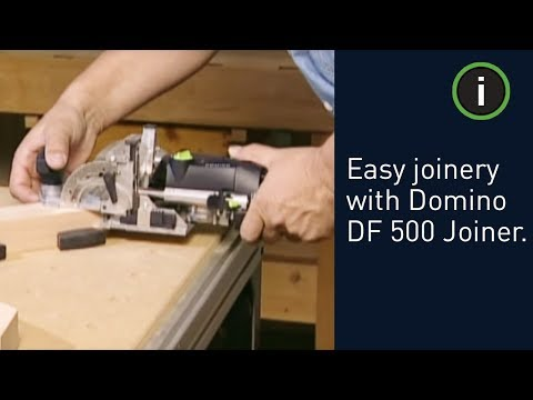 Festool DF500 Q-Plus Domino Biscuit Jointer Joining Machine 240v 574327