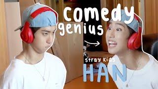 Stray Kids Han Jisung being effortlessly funny