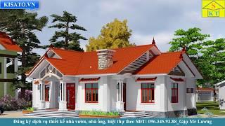 Mẫu Nhà Cấp 4 Đẹp 5 Phòng Ngủ 190m2 Tại Sơn Đà-Ba Vì-Hà Nội
