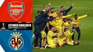 Arsenal vs. Villarreal: Extended Highlights | Europa League | UCL on CBS Sports