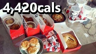 KFC $5 Fill Up Challenge