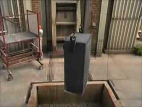 Test de coffres-forts/armoires blindées anti-vols et ignifuges Axess-industries