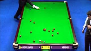 [1080p Remastered] Ronnie O'Sullivan's breathtaking winning-break - 2005 W. O. Final - Decider