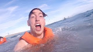 OUR BOAT CRASHED!