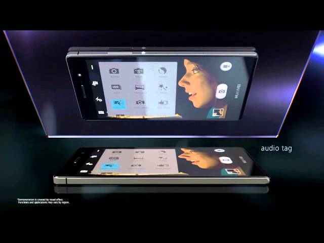 Belsimpel-productvideo voor de Huawei Ascend P7 Black
