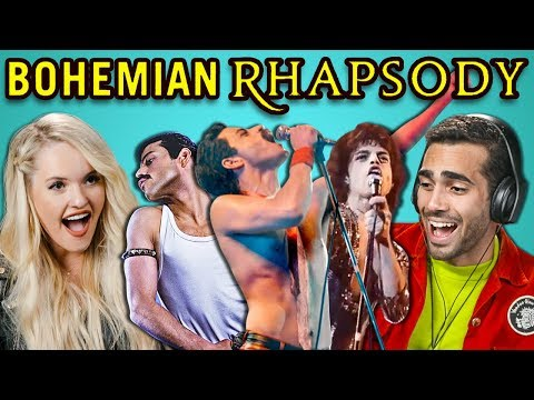 Adults React To Bohemian Rhapsody Trailer (Queen/Freddie Mercury Movie)