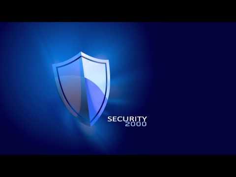 Security2000 logo-animatie