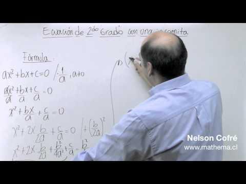 Ecuacion de 2º grado 2