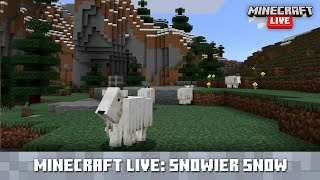 Minecraft Live: Mountains and Goats