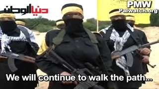 Fatah glorifies female fighters and suicide bombers