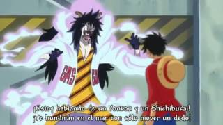 One Piece 616 - Escena Epica Luffy Vs Caesar