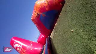 Amateur paintball. grabado con r7-replay.