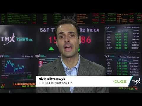 View from the C-Suite: Nick Blitterswyk, CEO of UGE International Ltd, tells his company's story.